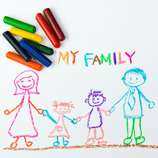 Happy Family using Play Therapy